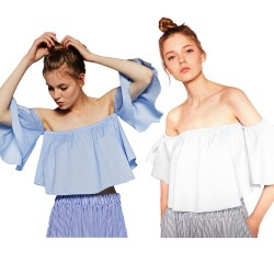 Love Off Shoulder Blus
